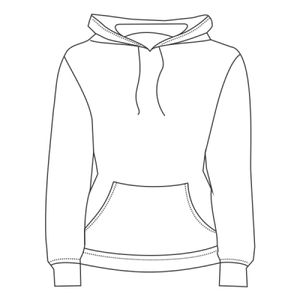 Volt Polyester Hooded Pullover Sweatshirt Thumbnail