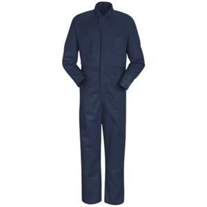 Snap-Front Cotton Coveralls Thumbnail